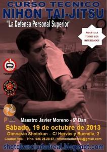 Poster Curso Javier - Ciudad Real 19-10-13