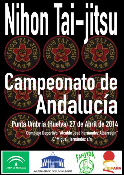 Cartel Campeonato Andalucía NTJ 2014-2
