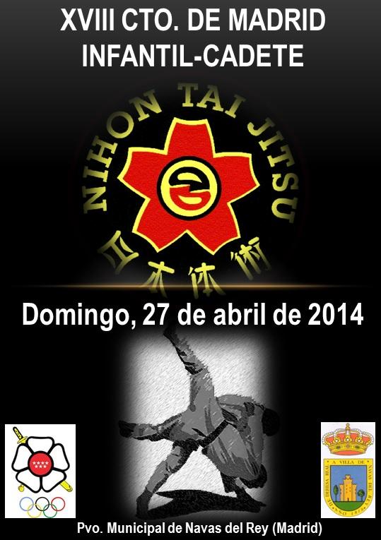 Cartel Campeonato Madrid NTJ 2014